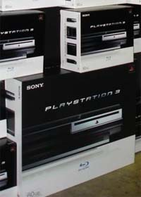 PS3 60GB and 20GB boxes