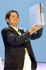 Ken Kutaragi shows PS3