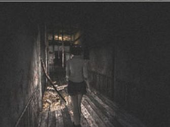 Fatal Frame 1 Screenshot Hallway (PS2 & Xbox)