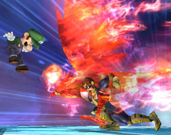 Captain Falcon unlocked