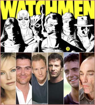 Watchmen Movie Full Cast