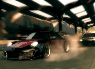 Need for Speed Undercover cop chase screenshot