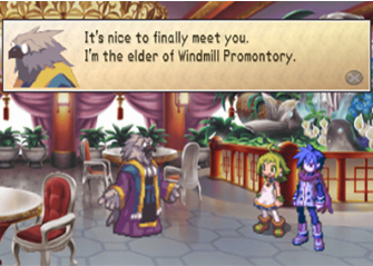 Phantom Brave Cutscene Screenshot