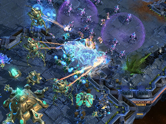 StarCraft 2 Gameplay Screenshot