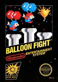Balloon Fight NES Boxart