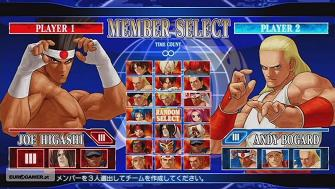 King of Fighters XII complete roster