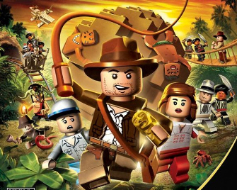 Lego Indiana Jones Artwork