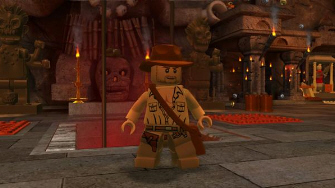 Lego Indy is ready to raid some tombs!