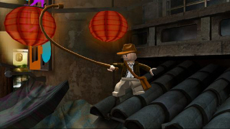 The whip is Indy's special attack, also used for puzzle solving and pulling items