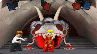 Women in Lego Indiana Jones can jump higher and scream to break glass