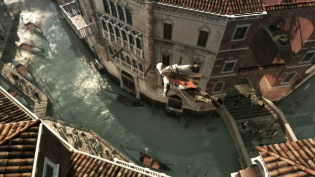 Assassin's Creed 2 Ezio Dive screenshot