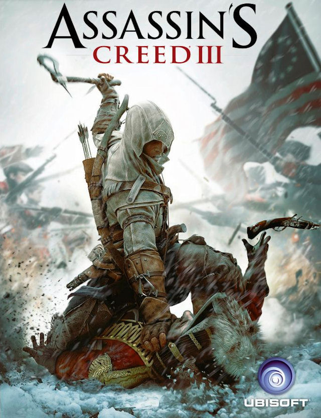 Assassin's Creed 3 Official Boxart