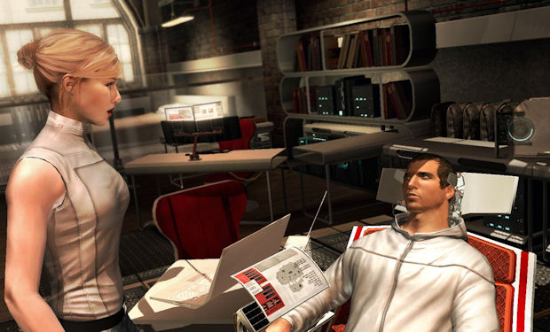 Desmond and Lucy work with the Animus 2.0 to find The Truth