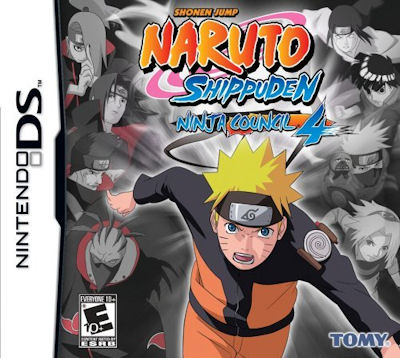 Naruto Shippuden Ninja Council 4 for DS