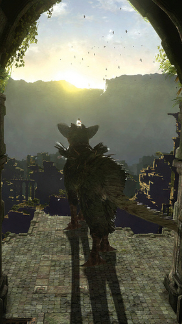The Last Guardian screenshot. Was TRICO for PS3 by Team ICO