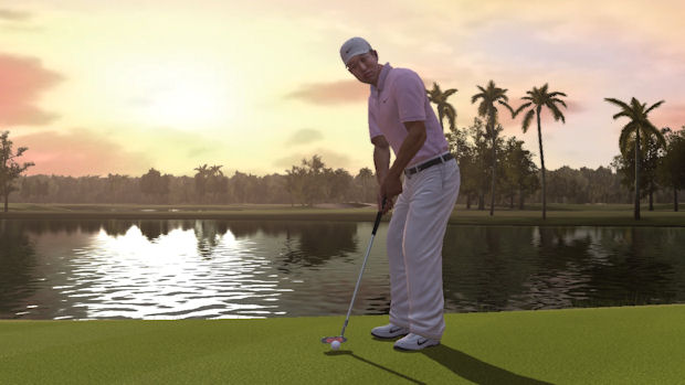 Tiger Woods PGA Tour 10 course play