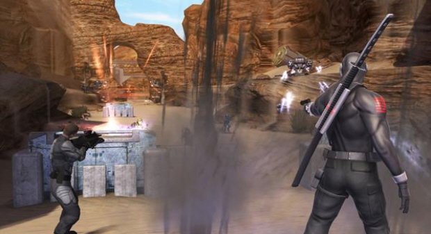 G.I. Joe: Rise of Cobra the video game screenshot