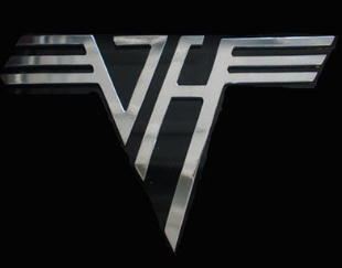 Van Halen logo. Guitar Hero: Van Halen will include 44 songs