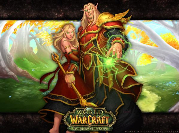 Free World of Warcraft possible? Maybe. But this WoW Burning Crusade wallpaper is free. BELIEVE!
