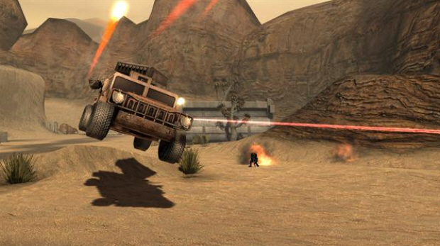 Vehicles in G.I. Joe: The Rise of Cobra videogame are cumbersome