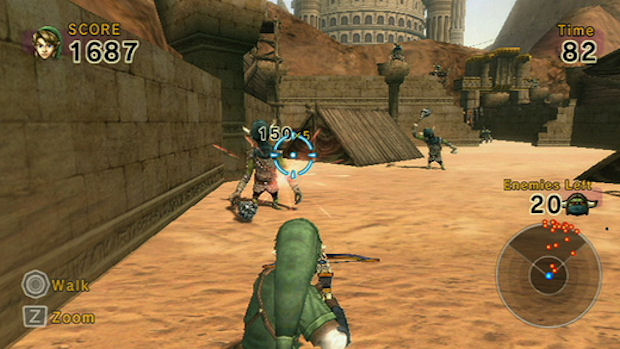 Link's Crossbow Training Wii screenshot