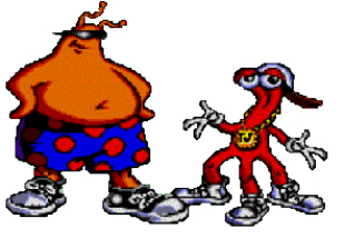 ToeJam and Earl artwork
