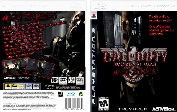 Call of Duty: World At War 2 box artwork (fake)