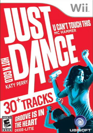 Just Dance Wii box artwork