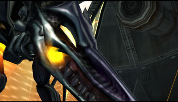 Ridley Metroid Prime Boss Screenshot