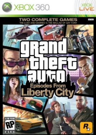 GTA Episodes from Liberty City box artwork