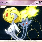 Uxie Legendary Pokemon artwork