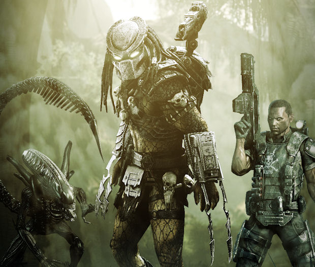 Predator walkthrough species artwork