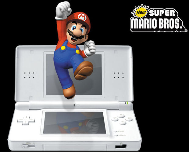 New Super Mario Bros. DS coins artwork