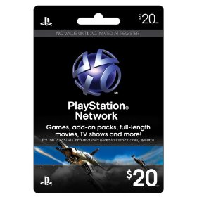 $20 PlayStation Network Card