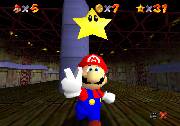 Super Mario 64 Star locations guide screenshot