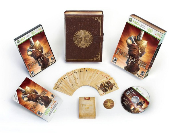 Fable 3 collector's edition limited set