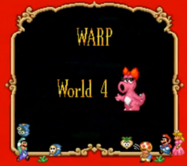 Super Mario Bros. 2 Warp Locations screenshot