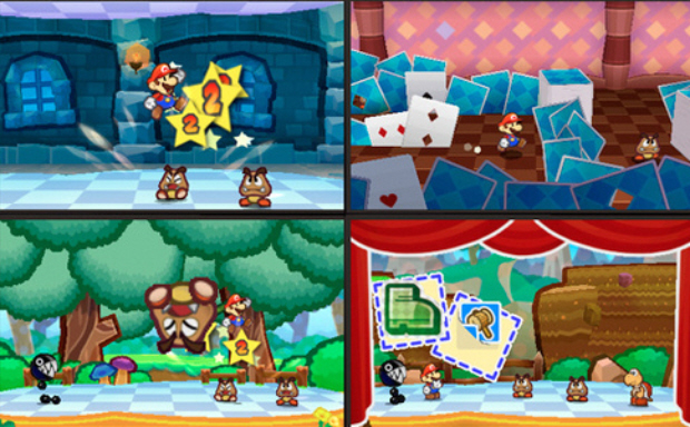 Paper Mario 3DS gameplay screenshots revealed