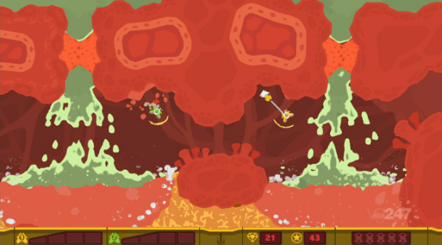 PixelJunk Shooter 2 gameplay screenshot