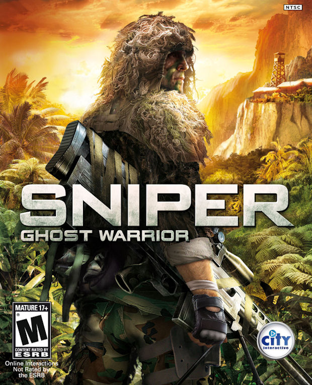 Sniper Ghost Warrior walkthrough videogame boxart