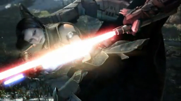 Star Wars: The Old Republic CG screenshot from E3 2010 trailer