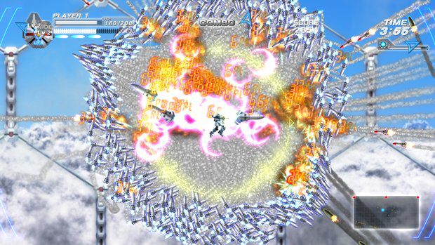 Bangai-o HD Missile Fury screenshot for Xbox Live Arcade