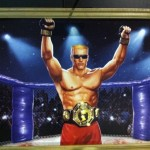 Duke Nukem the fight champion. Forever artwork. COME GET SOME