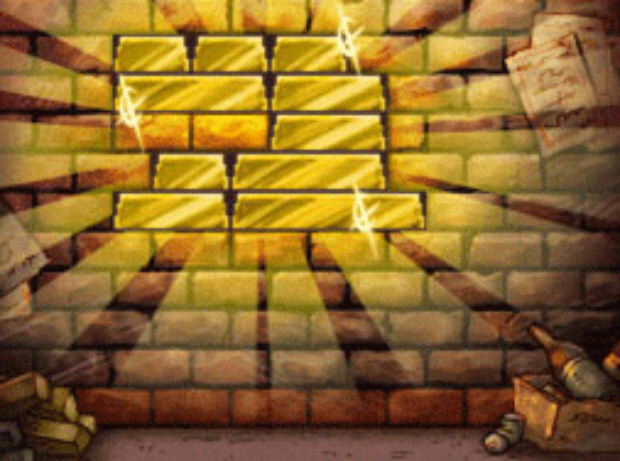 Professor Layton and the Unwound Future puzzle 139 Bricks N Bullion solution screenshot