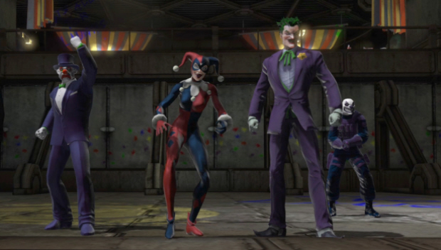 DC Universe Online screenshot Joker and Harley Quinn