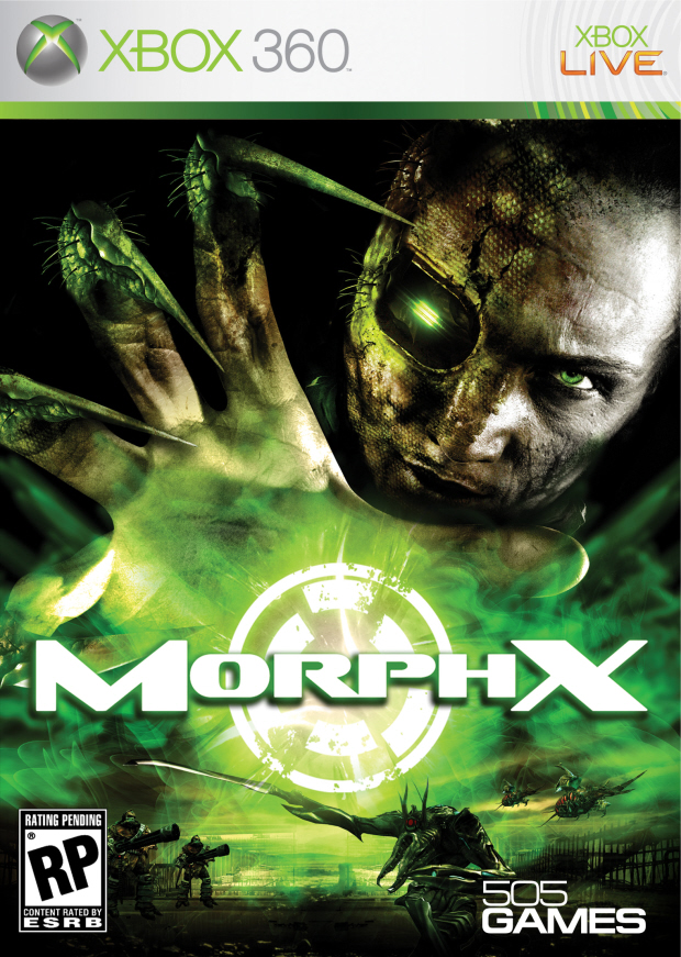 Morph-X walkthrough box artwork