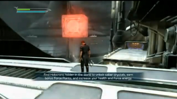 Star Wars The Force Unleashed 2 Holocron Guide Screenshot