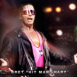 WWE Smackdown vs Raw 2011 Bret Hit Man Hart wallpaper