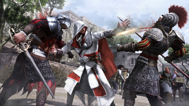 Assassin's Creed: Brotherhood Double Kill Screenshot