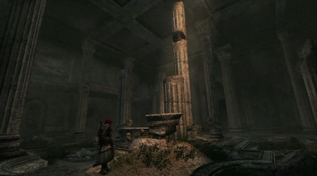 Assassins Creed Brotherhood Shrine location screenshot for the Xbox 360 and PS3